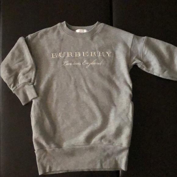06cfff726a Burberry Other - Burberry sweatshirt dress